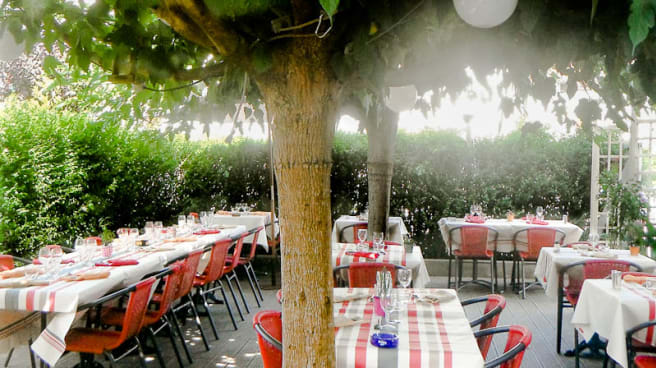 Vue terrasse - La Petite Auberge, Ustaritz
