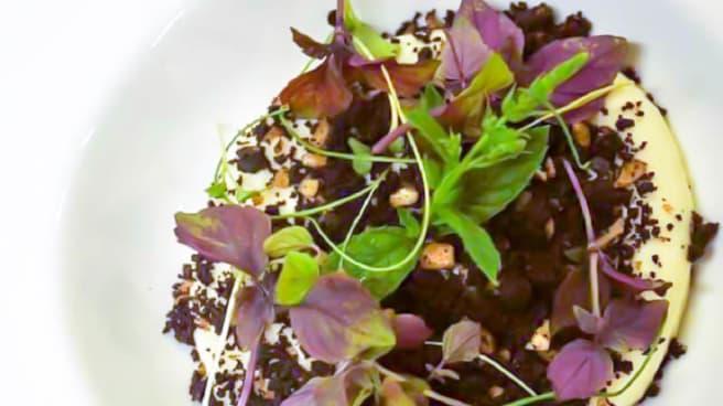 Ravioli di Burrata di Andria con Gamberi Rosa - NEW Cantina Del Pozzo