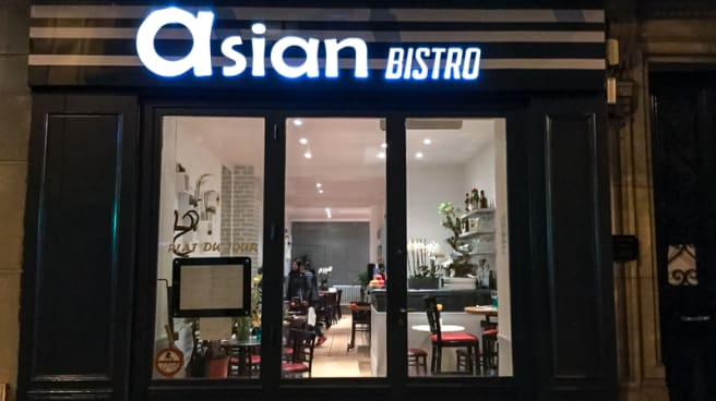 Devanture - Asian Bistro, Paris