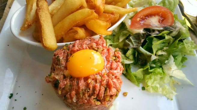 Steak tartare - Le Grand Comptoir d'Alesia, Paris