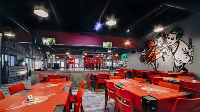 Vista sala - Tequila Steakhouse Birreria