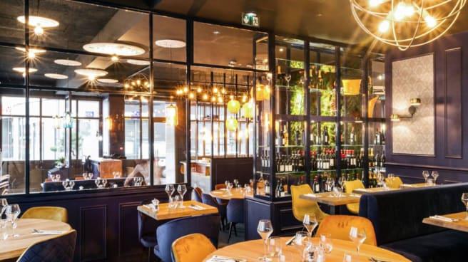 Salle du restaurant - Au Coin! Bistrot Bar Chic, Ermont