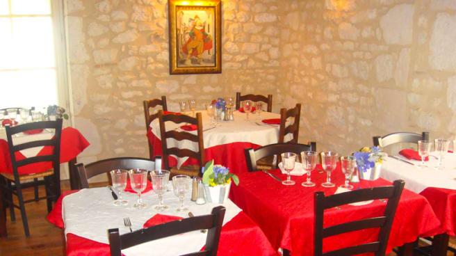 Tables dressées - Le Lion d'Or