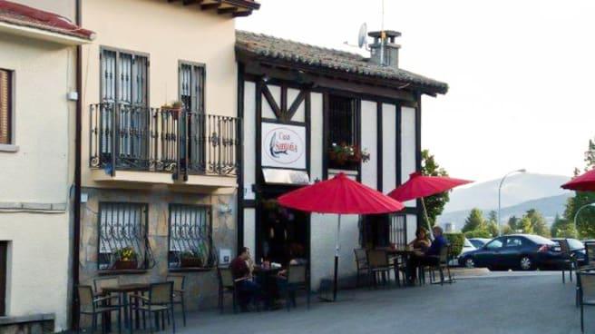 Vista entrada - Casa Santoña - Los Molinos, Los Molinos