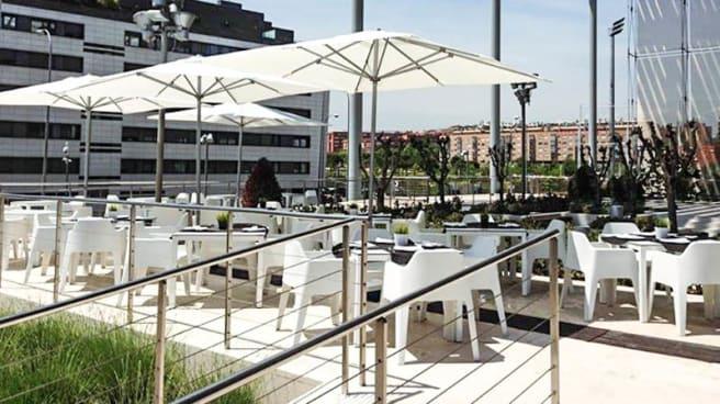 Vista terraza - La Mafia se Sienta a la Mesa- Campo de las Naciones, Madrid