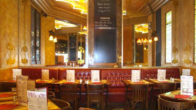 Vue de la salle - Le Comptoir Parisien, Paris
