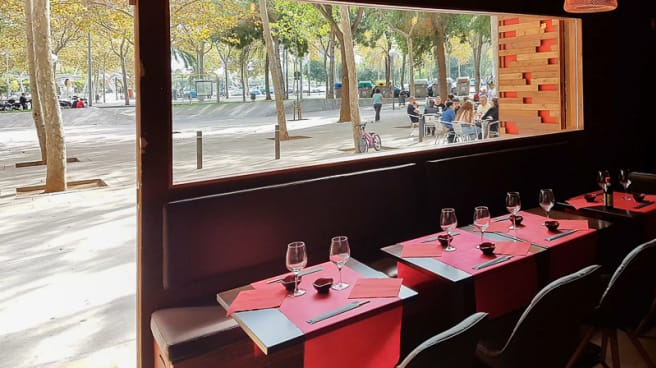 Vista interior - Okinawa Sushi, Barcelona