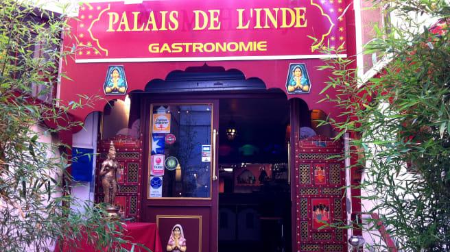 Entrée - Palais de l'Inde, Poissy