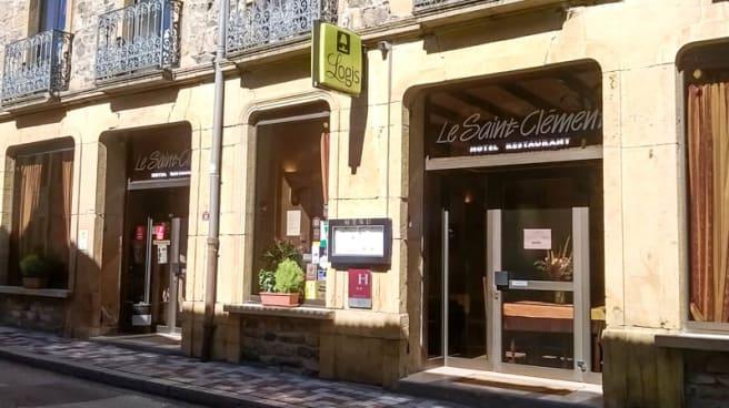 Vue facade - Le Saint Clément