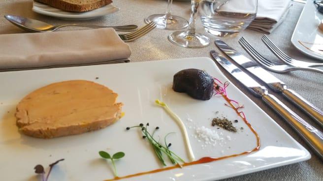 Marbré de foie gras de canard - Le Romarin - Emeric Banon, Sautron