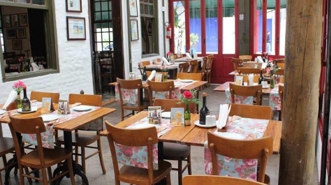 Vista da sala - Benedetta Bar e Restaurante, São Paulo