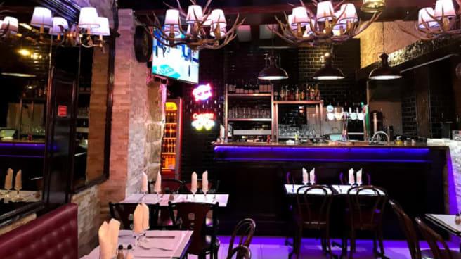 Salle du restaurant - La Belle Etoile, Paris