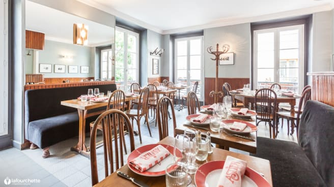 Salle du restaurant - Astier, Paris