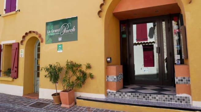 Entrée - Restaurant hôtel Le Grand Puech Mimet