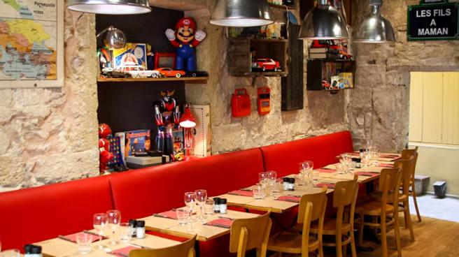salle - Les Fils à Maman Montpellier, Montpellier