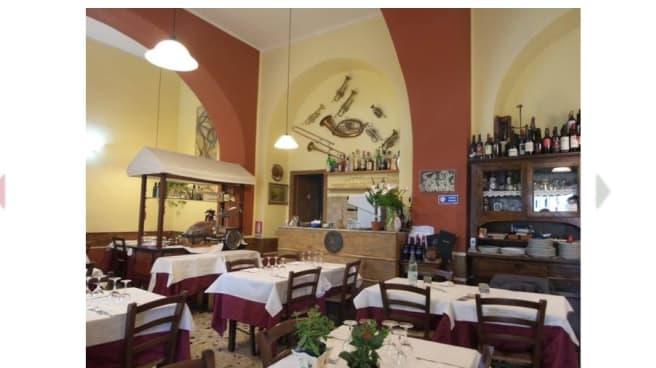 interno locale - Hostaria Nomentana, Rome