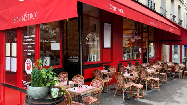Terrasse - lesbombistrot, Paris