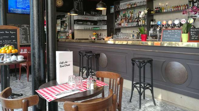 Salle du restaurant - Cafe Au Rond Point, Paris