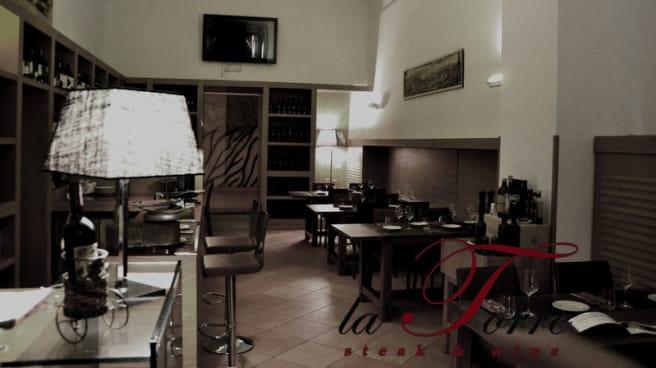 sala interna - La Torre Steak & Wine, Cercola