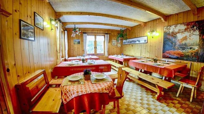 Sala da pranzo - Ristoro Solena