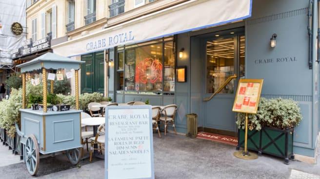 Façade - Crabe Royal, Paris