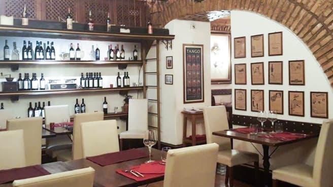 Vista sala - Pontebianco Restaurant and Grill, Roma