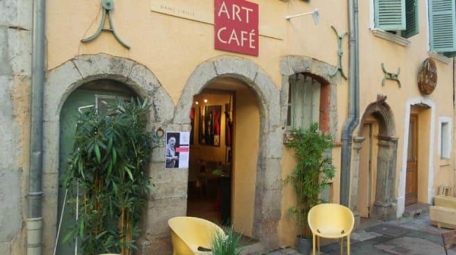 Entrée - Art café, Toulon