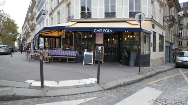 Entrée - Café Pola, Paris