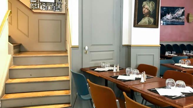 Vue de la salle - Villa Positano, Paris