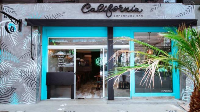 Fachada - California Superfood Bar, São Paulo