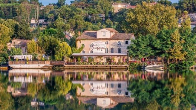 Devanture - La Guingette du Vieux Moulin, Villeneuve-lès-Avignon