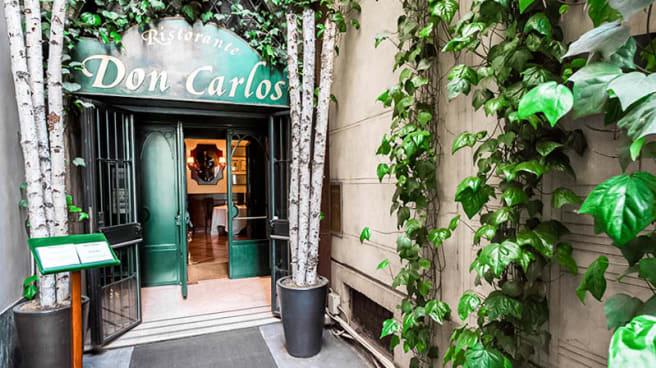 entrata - Don Carlos, Milano