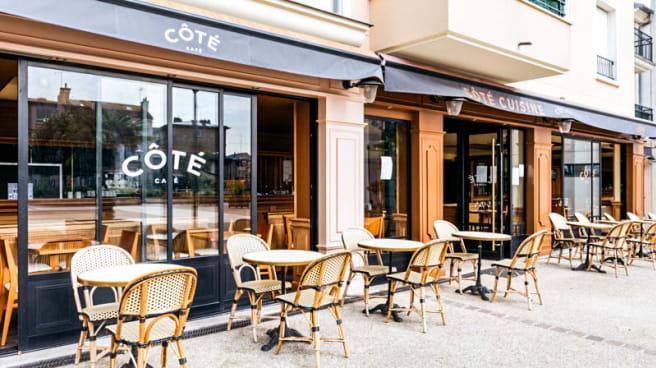 Entrée - Côté Café et Côté Cuisine, Montgeron