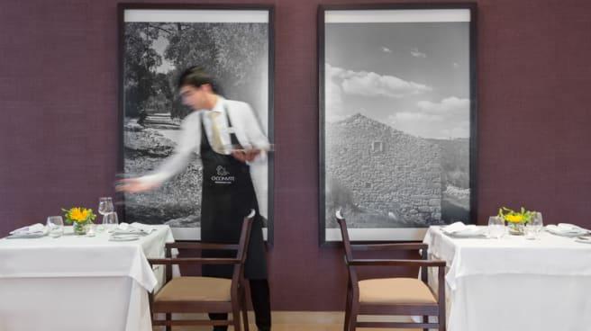Detalhe da sala   Restaurant detail - O Convite by Dom Gonçalo Hotel