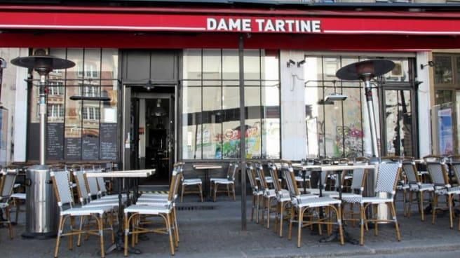 Terrasse - Dame Tartine, Paris