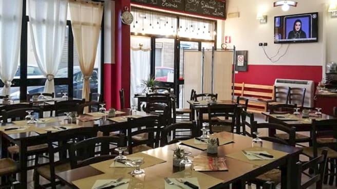 Interno - Pizzeria Crisma, Alghero