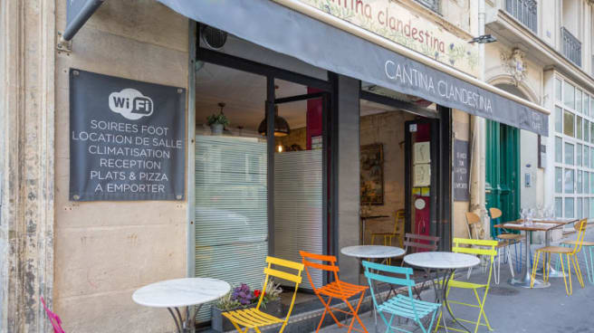 Entrée - Cantina Clandestina, Paris