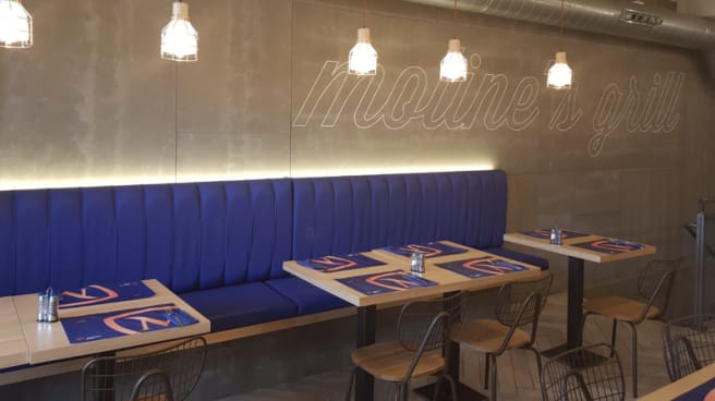 Sala del restaurante - Moline's Grill, Madrid