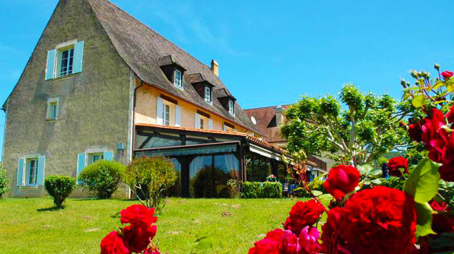 Vue du jardin - Le Relais des Cinq Châteaux