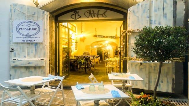 Entrata - Pane & Mare, Salerno