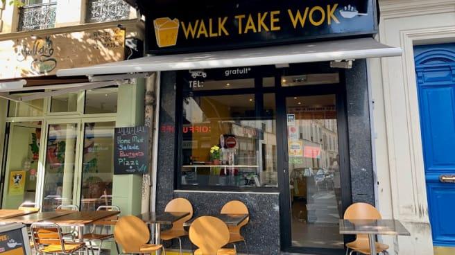 Terrasse - Walk Take Wok, Paris