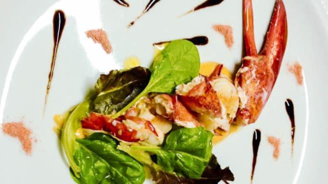 Insalatina di Astice su Vellutata Corallo - Osteria al Vintun, Legnano
