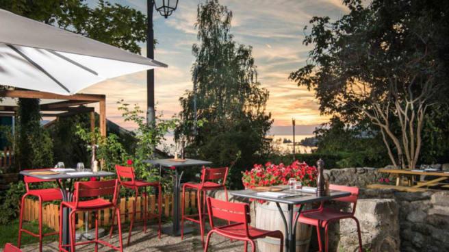 Terrace view - Restaurant Le Museum, Montreux