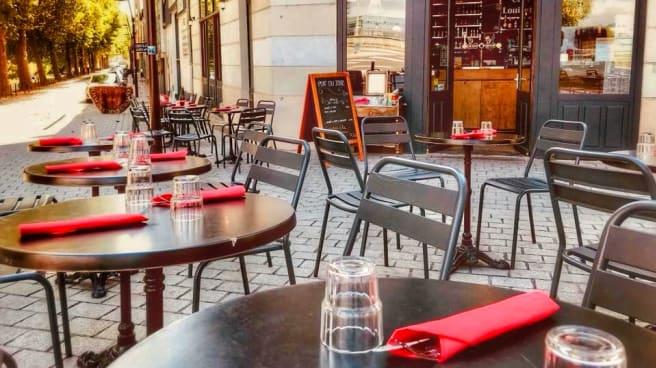 chez louisette terrasse - Chez Louisette, Nantes