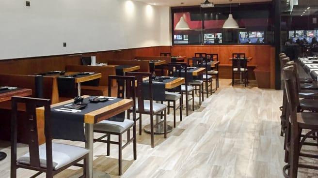 Vista sala - Hiroki Sushi Bar - Pontevedra, Pontevedra