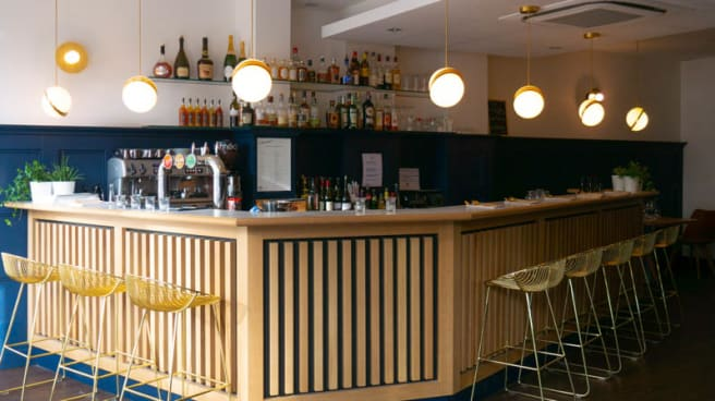 salle du bar - Le Club Marot, Lille