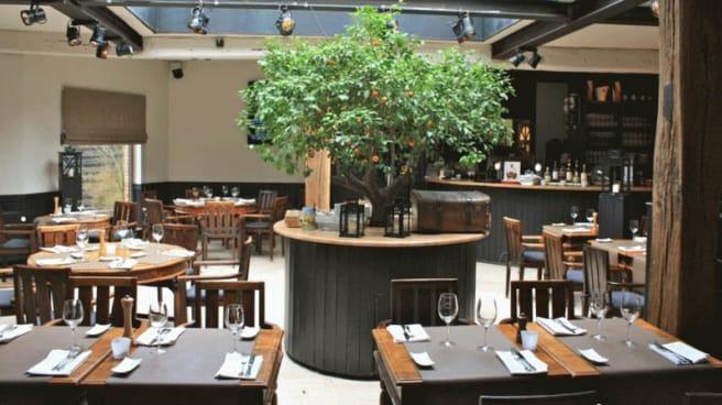 Vue de la salle - Eet-Kafee Kontich