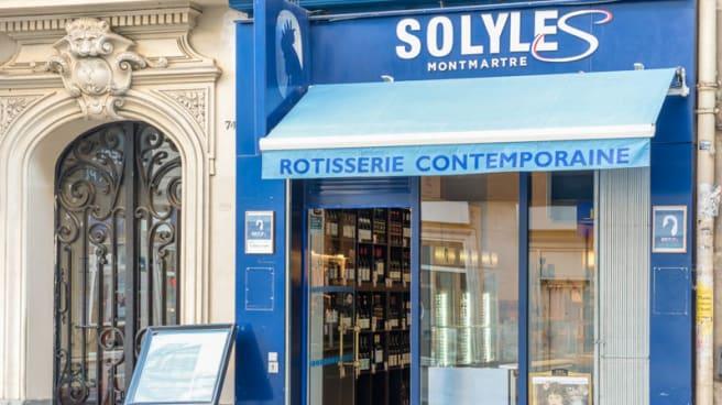 Façade - Solyles, Paris
