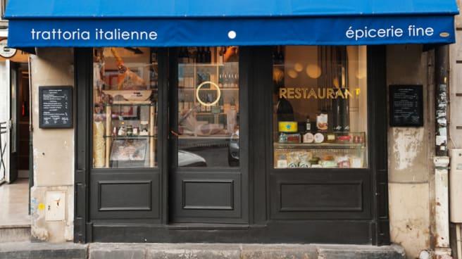 Devanture - Le Petit Capri Bazar, Paris