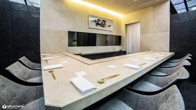 Vue de la salle - Sushi-B Paris, Paris